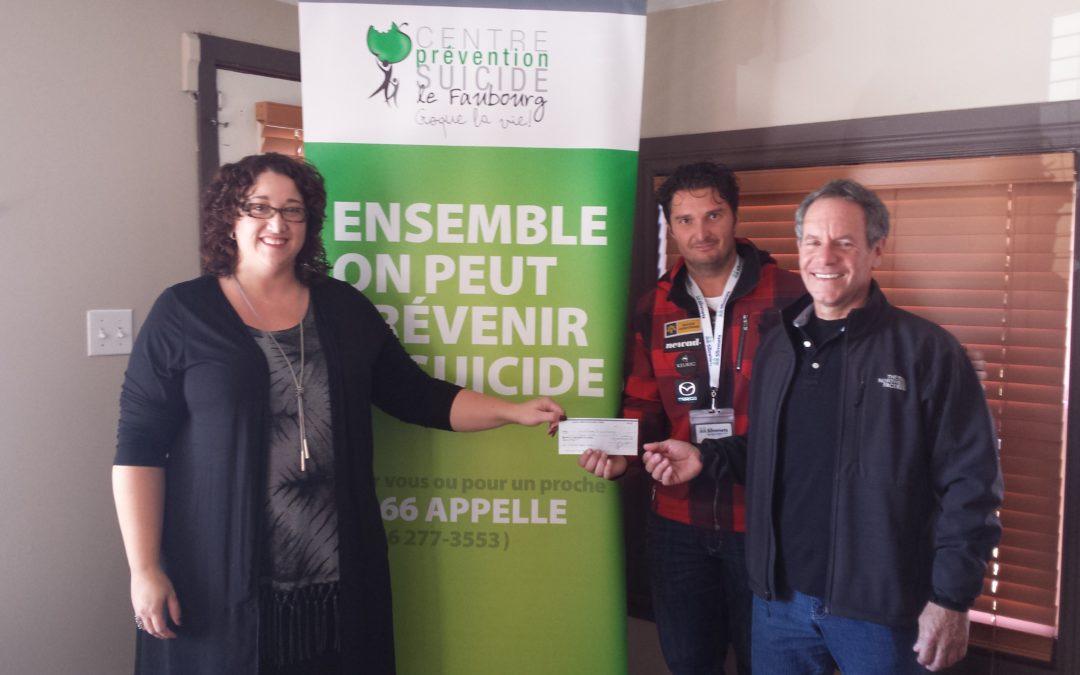 La 8e édition Défi du Mont-Olympia permet d'amasser 2000$ au profit du CPS le Faubourg.