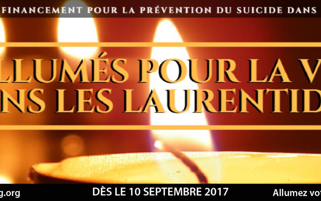Le Centre Prévention suicide le Faubourg annonce le début de sa campagne annuelle de financement